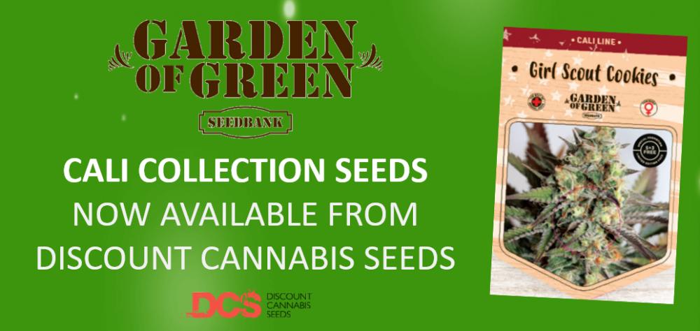 Garden of Green Seeds - Discount Cannabis Seeds