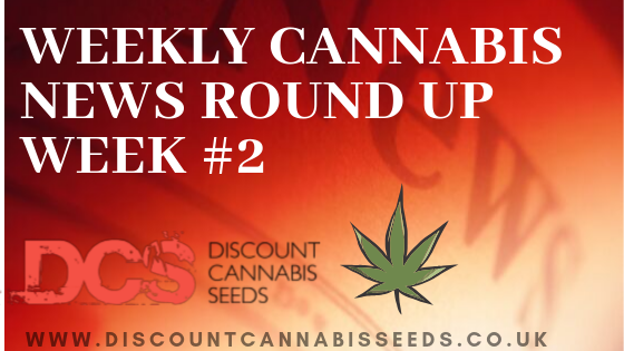 Weekly Cannabis News - Discount Cannabis Seeds