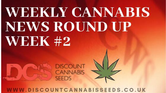Weekly Cannabis News - Discount Cannabis Seeds