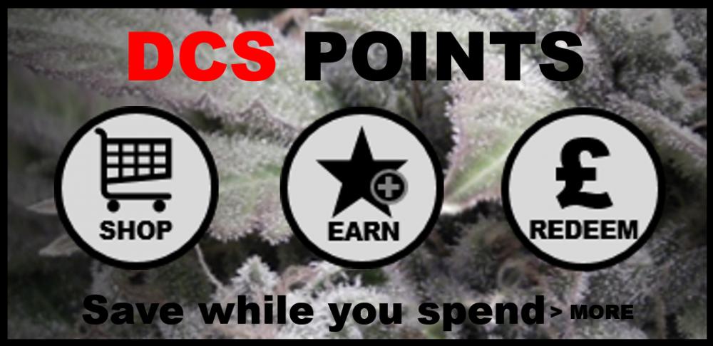 DCS POINTS - Discount Cannabis Seeds