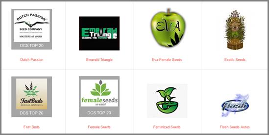Top 20 Seed Banks