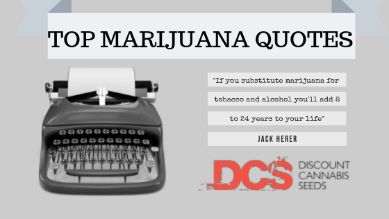 Top Cannabis Quotes - Discount Cannabis Seeds