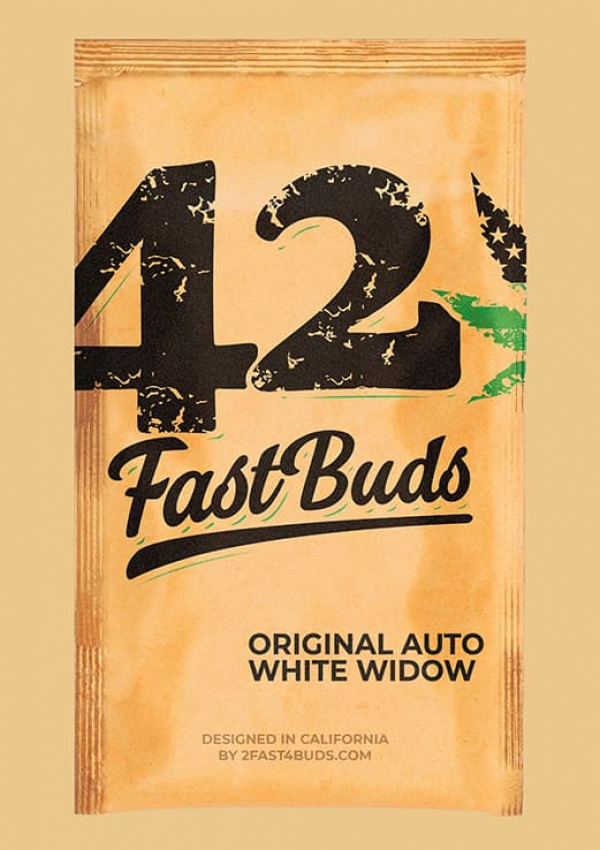 Auto White Widow Feminised Cannabis Seeds | Fast Buds Originals