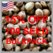 15% Off 100 Seed Bulk Packs - Discount Cannabis Seeds