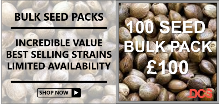 Bulk Packs - 100 Seeds for £100