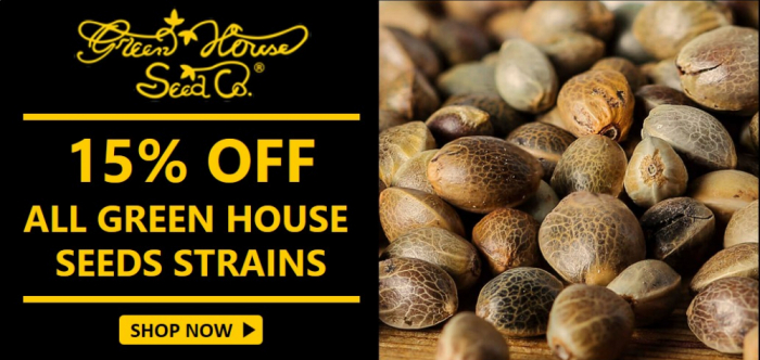 15% Off Green House Seeds from Discount Cannabis Seeds