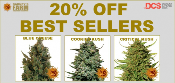 Barneys Farm Top Sellers - Discount Cannabis Seeds