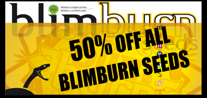 50% Off Blimburn Seeds | Discount Cannabis Seeds