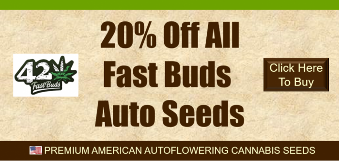 20% Off Fast Buds Seeds | Discount Cannabis Seeds