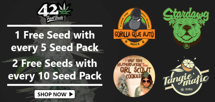 Free Fast Buds Seeds - Discount Cannabis Seeds