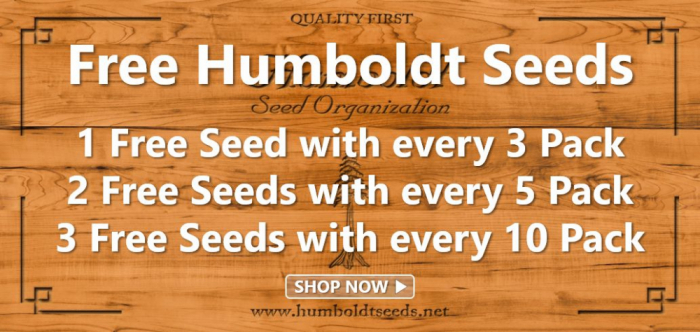 Humboldt Seeds - Discount Cannabis Seeds