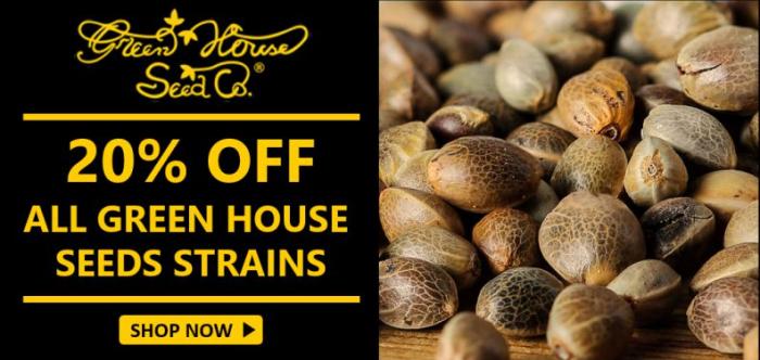 Green House Seeds - Discount Cannabis Seeds