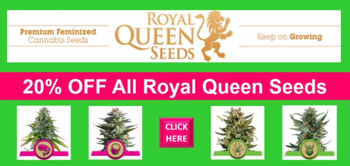 Royal Queen Seeds March 2018 Promo | Discount Cannabis Seeds