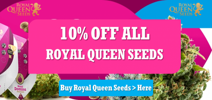 10% Off All Royal Queen Seeds | Discount Cannabis Seeds