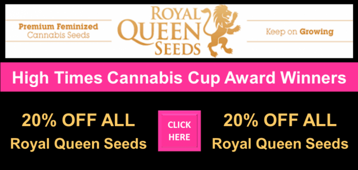 Royal Queen Seeds Promotion | 20% Off All Cannabis Seeds | Discount Cannabis Seeds