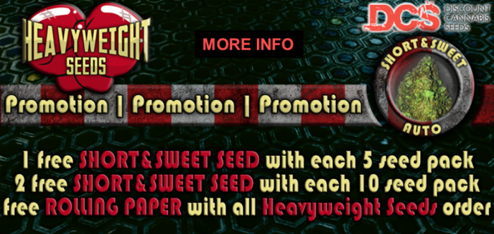 Heavyweight Seeds Free Short & Sweet Seeds Promotion