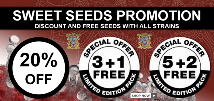 Sweet Seeds Discount and Free Seeds - Discount Cannabis Seeds