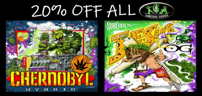 TGA Subcool Seeds - 20% Off Promotion - Discount Cannabis Seeds