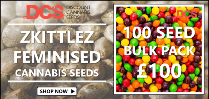 Zkittlez 100 Seed Bulk Packs - Discount Cannabis Seeds