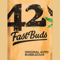 Auto Bubblegum Feminised Cannabis Seeds | Fast Buds Originals
