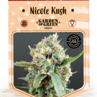 Nicole Kush Feminised Cannabis Seeds | Garden of Green