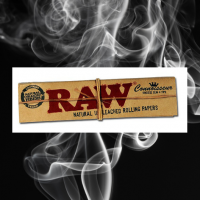 Raw Connoisseur Kingsize Slim Papers & Tips - Discount Cannabis Seeds